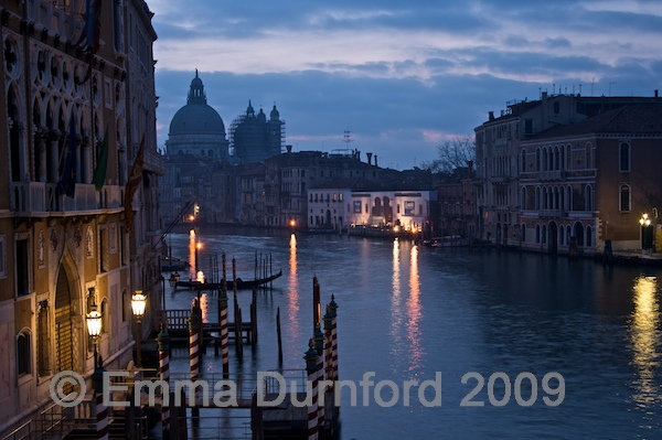 Dawn over the Grand Canal