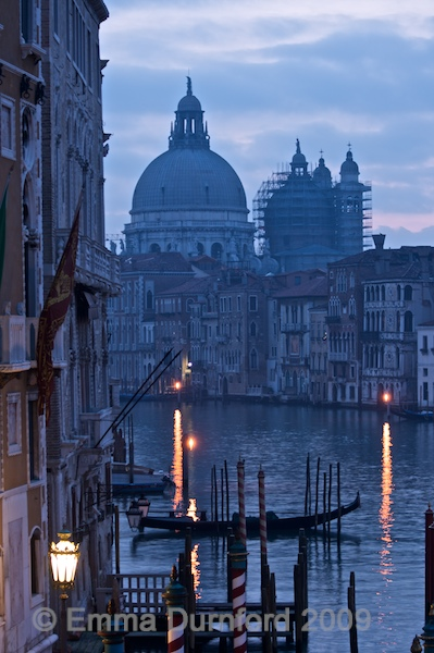 The Grand Canal at dawn
