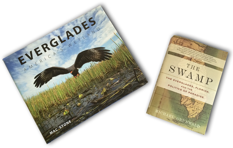 Beautiful photographs and excellent reading: 'Everglades' & 'The Swamp'.