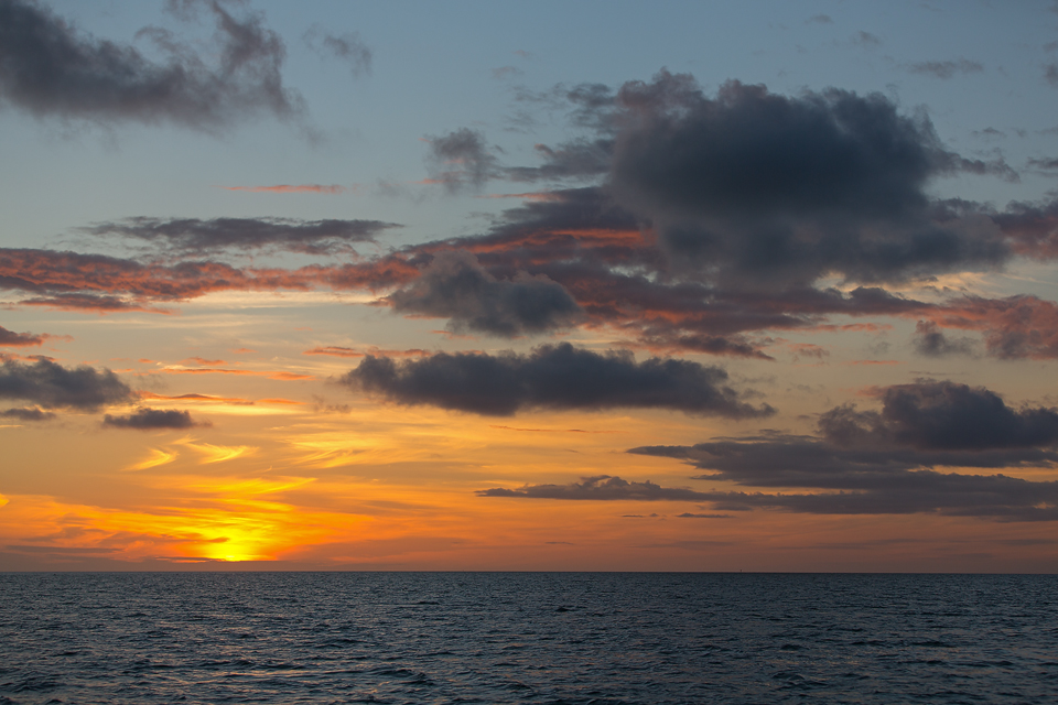 Sunset over Florida Bay. Canon 5D Mark III, Canon EF 70-200mm f/2.8L IS II USM, 1/500, f/3.5, iso 100, handheld.