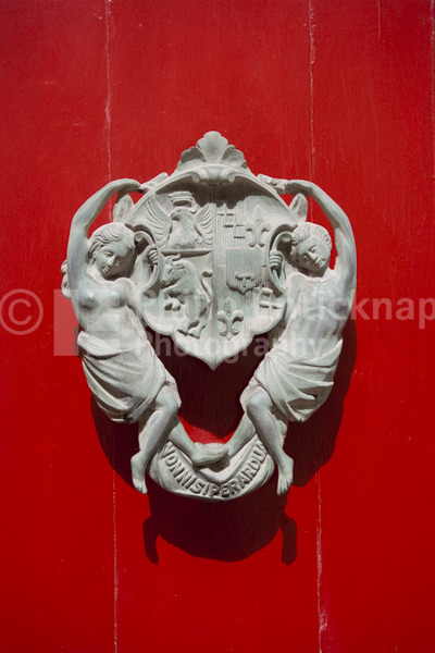 Ornate Door Knocker.