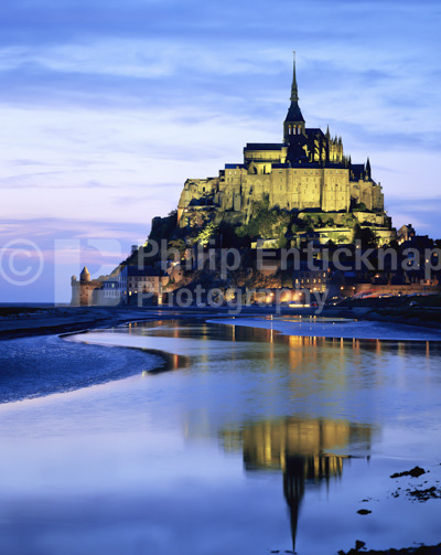 Le Mont Saint-Michel,France