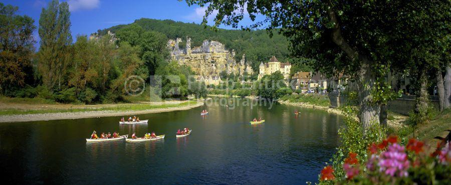 La Roque Gageac, Dordogne , France.