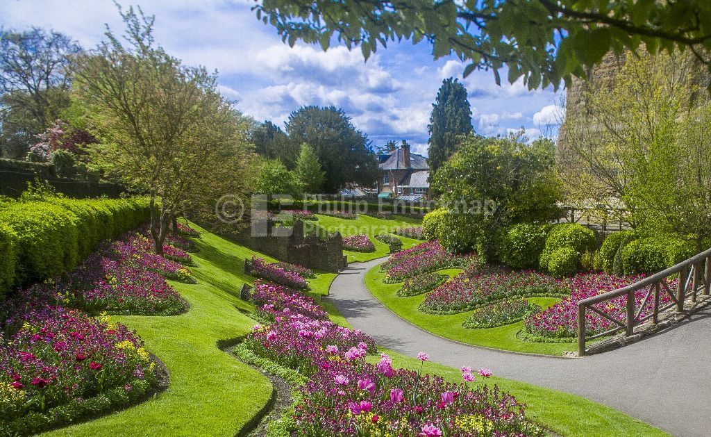 Guildford Castle Grounds ,Surrey England.May 2018