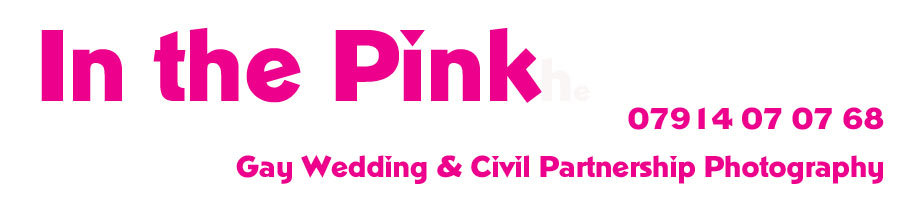In the Pink, Gay Wedding Photography