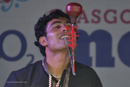 Glasgow Mela Spinning Top