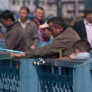Father and Son, Galata Bridge