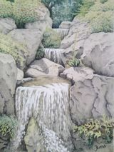 Waterfall at Wisley