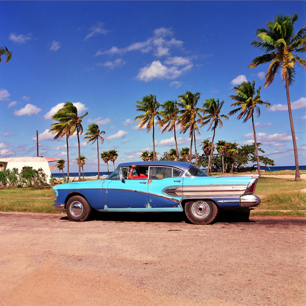 Shot in Cuba for Car calender