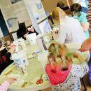 World Community Arts Day, Drop in ceramic transfer workshop,  The Make Room, Alloa, Clackmannanshire, 2010