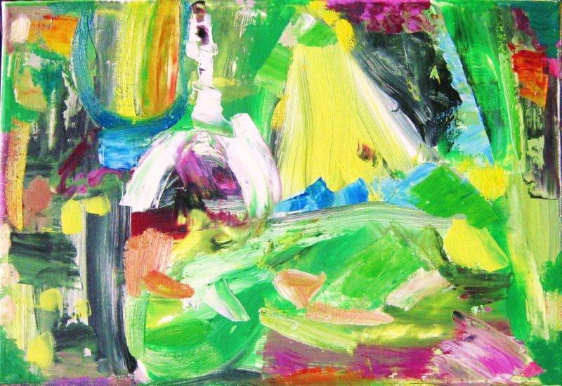 'A Journey Through Paint,' (June-July)