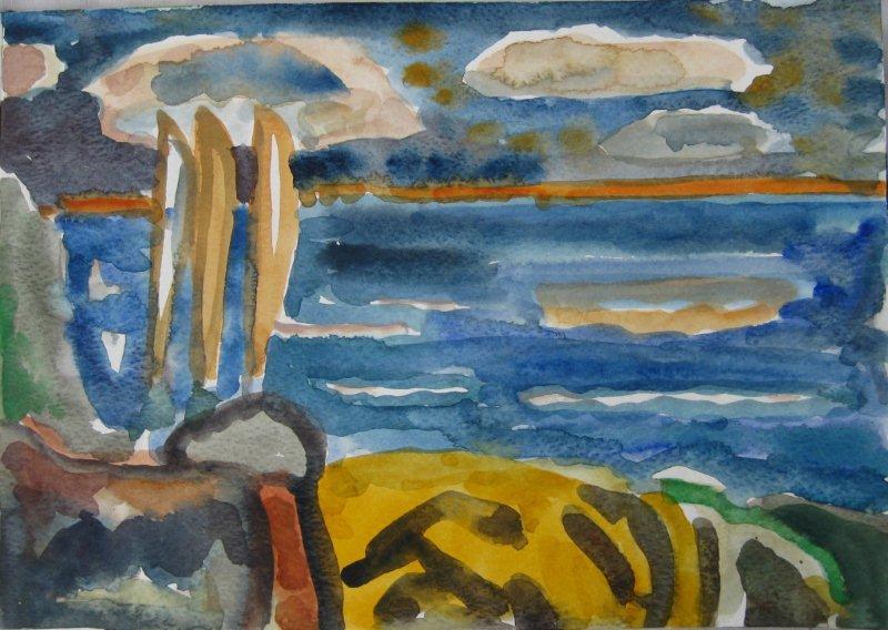 'Coastal Night Poem.'