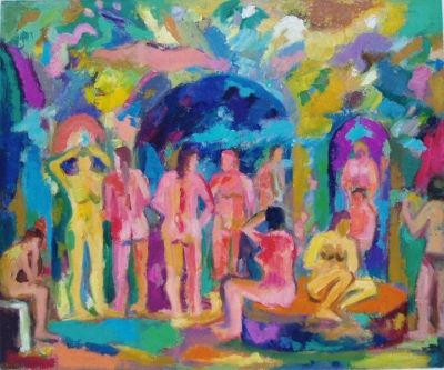 'Conversations in the Baths, 1'<br>