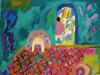 'Figure in the Turkish Baths.'<br>