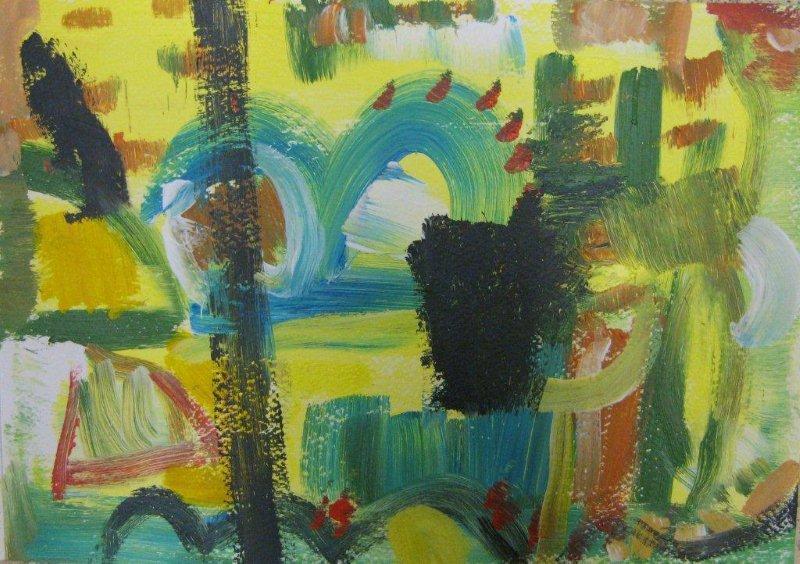 'Garden of Paint.'
