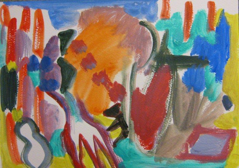 'Garden of Paint,' (3)
