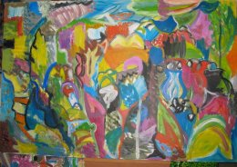 'Arrowheads in Lemba Valley,' (Cyprus series)