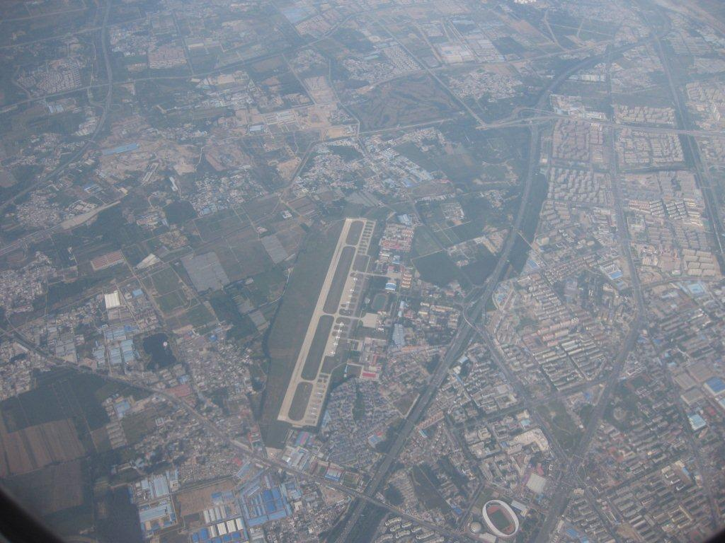 Flying in over Beijing, September 23rd 2015