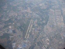 Flying in over Beijing, September 23rd 2015