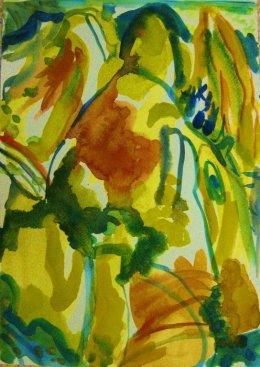 'Mountain-Poem,' (yellows)
