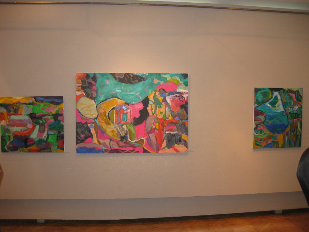 My paintings at the Daugavpils Regional Museum of Studies and Arts