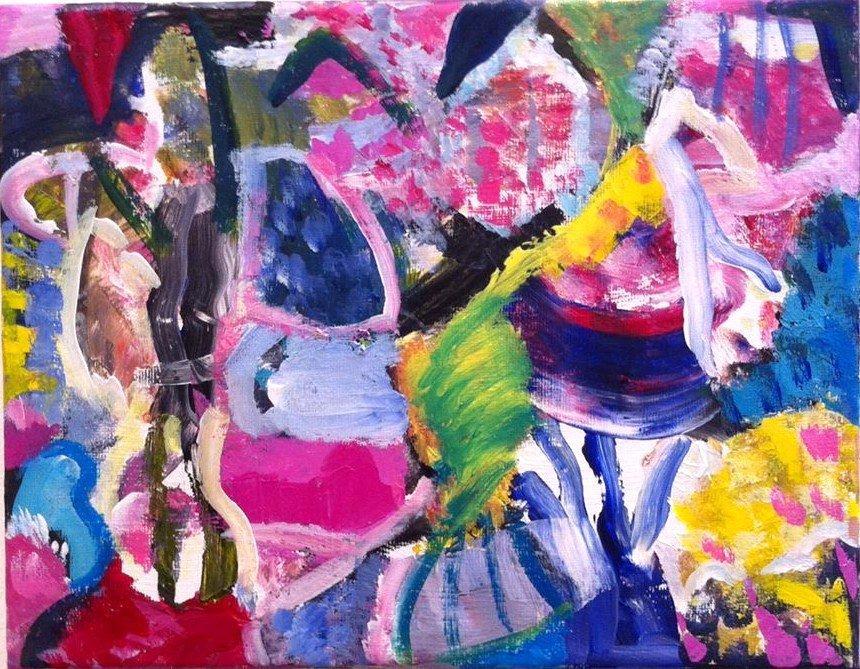 'Landscape-Poem.' (pinks)