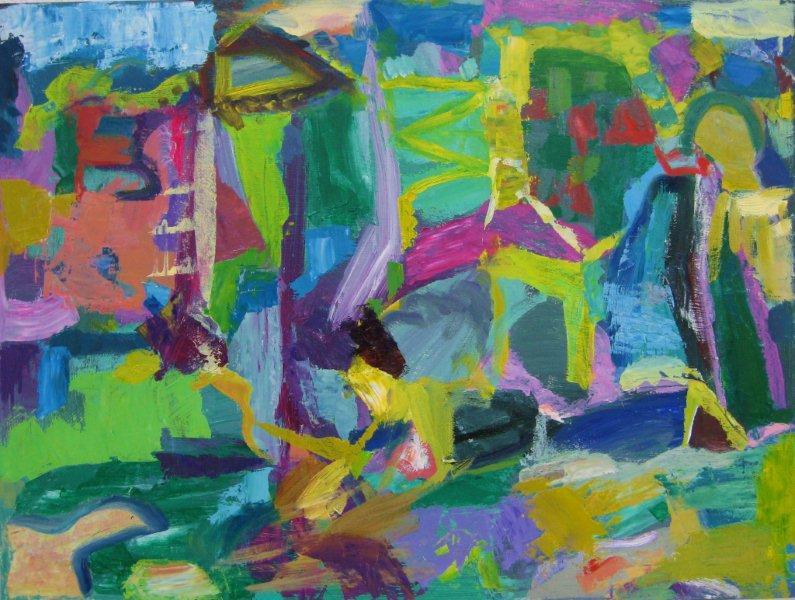 'March Paintscape.'