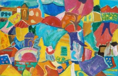 'Nicosia, Mountains and Washing.'<br>