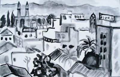'Nicosia and Kyrenia Mountains.'<br>