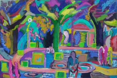 'Park, Night Paths.' 2010<br>