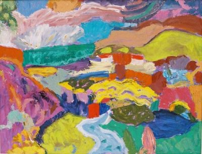 'Polis Bay, Cyprus, Approaching Storm.'<br>
