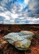 Upright Rock, Dalby Forest