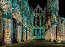 Illuminated Whitby Abbey