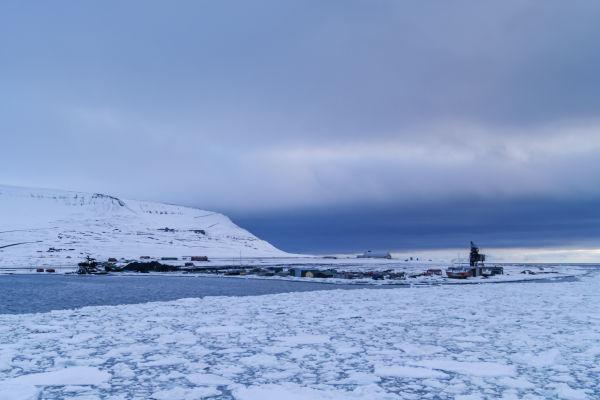 Kullkaia i Longyearbyen
