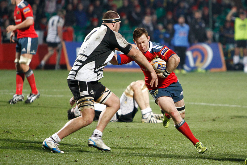 Munster v Zebre Feb 2014