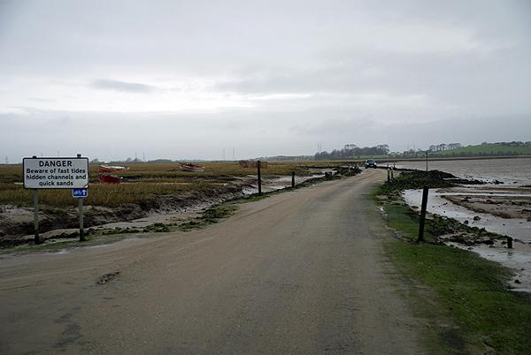 Sunderland Point Tidal Road