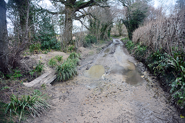 Okeford Fitzpaine Ford