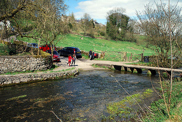 Youlgrave Ford and Clapper Bridge