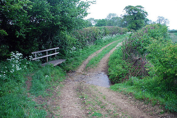 Bridleway Ford at Driby