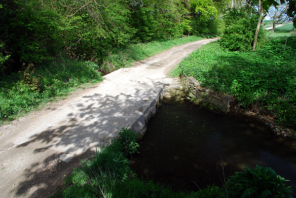 Bridleway Ford at West Ashby