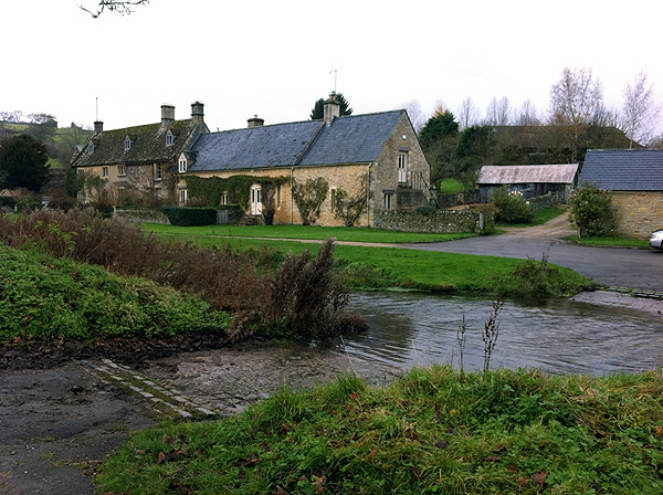 Ford at Upper Slaughter