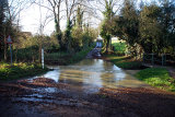 Little Humby Ford in Flood