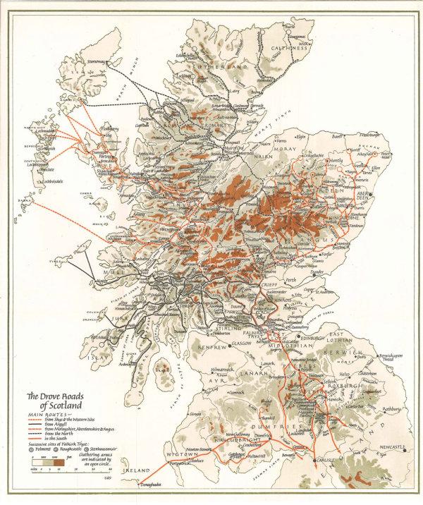 Scottish drove roads