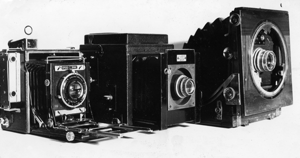 Middleton family cameras. Film and digital article.