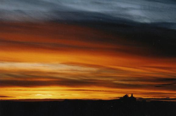 Sunset, November 2012