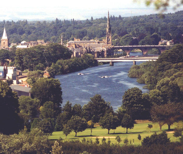 The fair city of Perth, Scotland