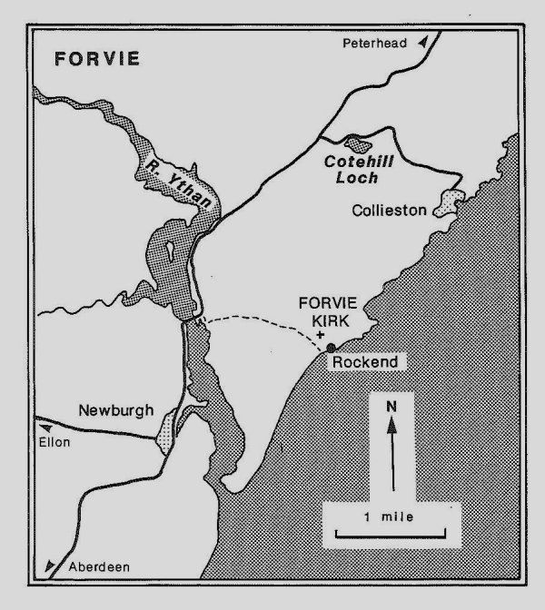Forvie map. 'Sand and Silence' article.