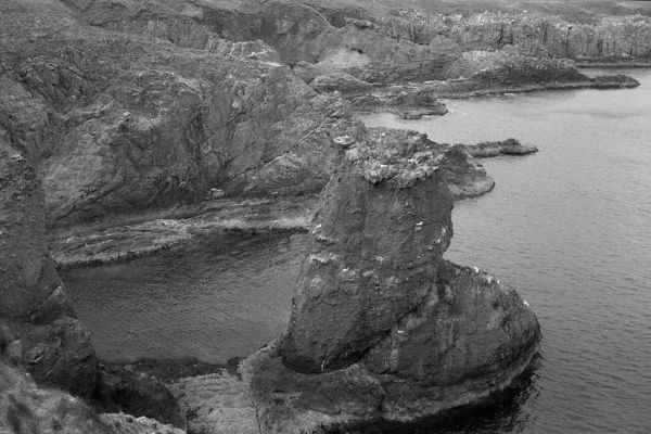 Stack south of Bullers of Buchan