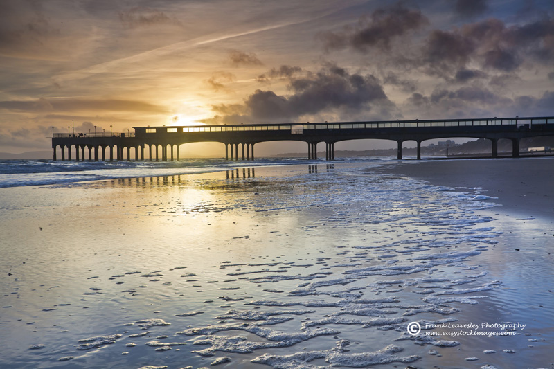 Boscombe Pier A Winter View