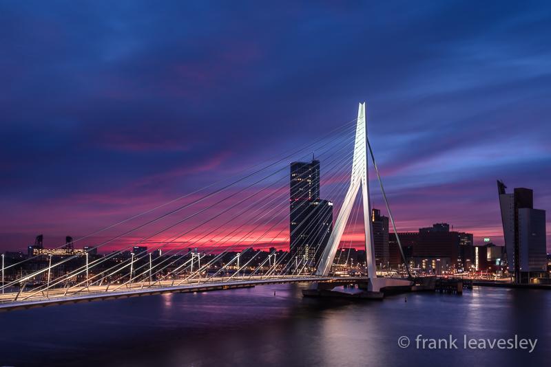 Dawn The Erasmus Bridge